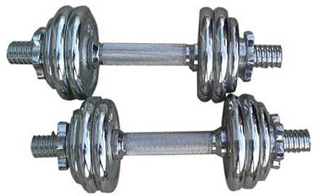 Surenkamų svarmenų komplektas inSPORTline YLDS14, 15 kg