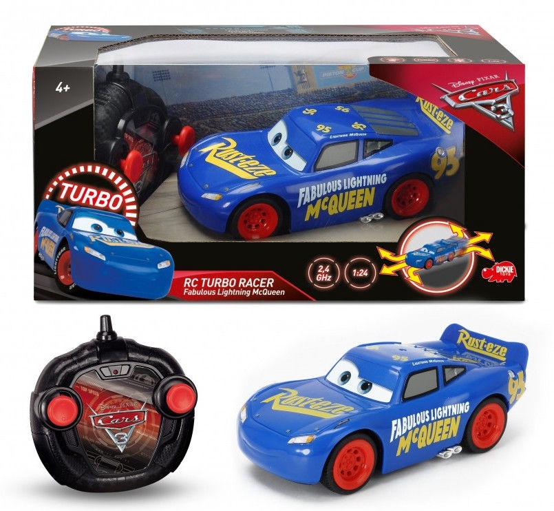 Dickie Toys RC Cars 3 Fabulous Turbo Racer LMQ