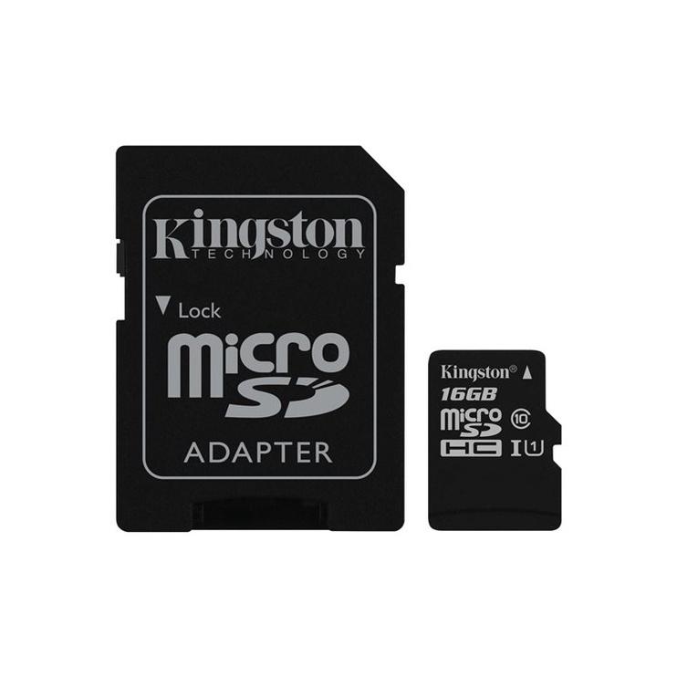 KORT ATM KINGSTON MICROSD C10 SDCS/16GB
