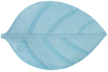 Home4you Leaf Table Mat Blue