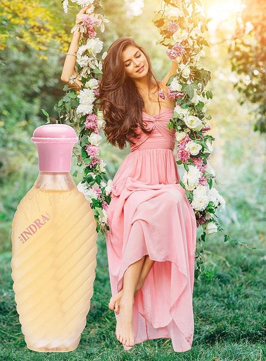 Набор для женщин Urlic De Varens Indra 100 ml EDP + 125 ml Deodorant Spray