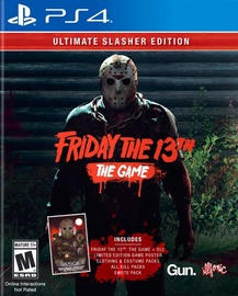 Friday The 13th The Game Ultimate Slasher Edition PS4