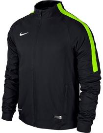 Nike Squad 15 Sideline Woven Jacket 645476 011 Black Green S
