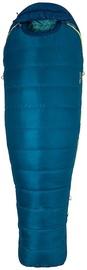 Спальный мешок Marmot Women's Teton 15 Blue, правый, 196 см