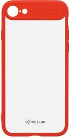 Tellur Hybrid Matt Bumper Back Case For Apple iPhone 7 Plus/8 Plus Red