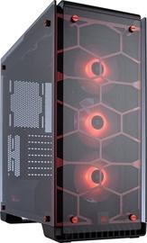 Corsair Crystal 570X RGB ATX Mid Tower w/ Side Window Red CC-9011111-WW
