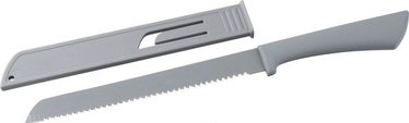 Fackelmann Knife For Bread With Cover 19cm Grey
