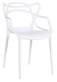 Home4you Chair Butterfly White 30026