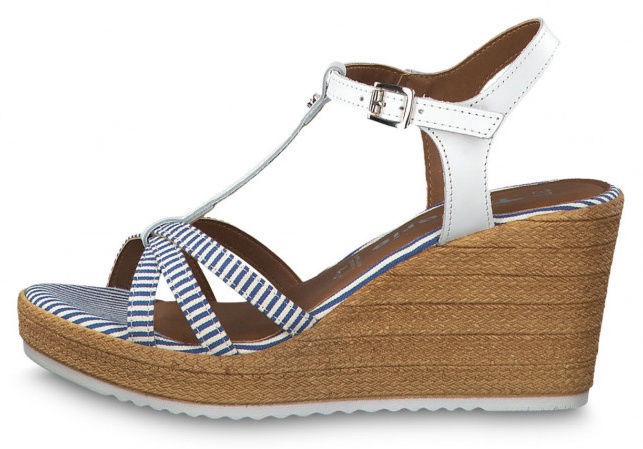 Tamaris Sandal 1-1-28380-22 White Blue 37