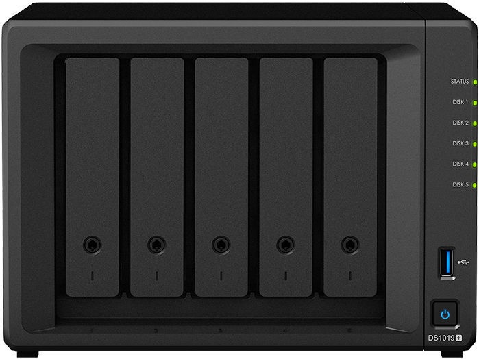 Synology DiskStation DS1019+ 40TB WD Red