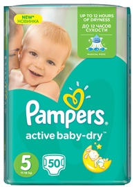 Pampers Active Baby-Dry S5 50