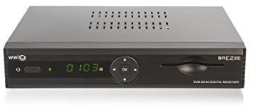 Xoro 8100 Set 3 Receiver Black