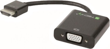 Techly 306301 HDMI to VGA with Audio/microUSB Converter