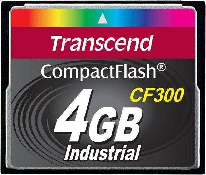 Transcend CompactFlash CF300 4GB