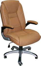 Home4you Office Chair Clark Beige 27606