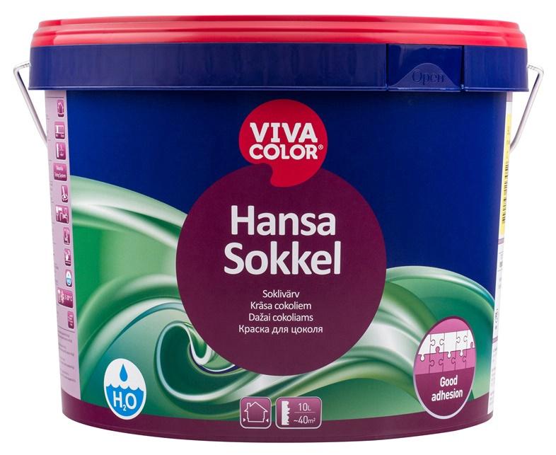 Krāsa cokoliem Vivacolor Hansa Sokkel C, 9 l