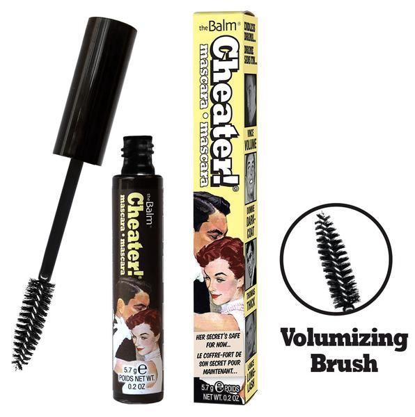 TheBalm Cheater! Mascara 5.7g Black