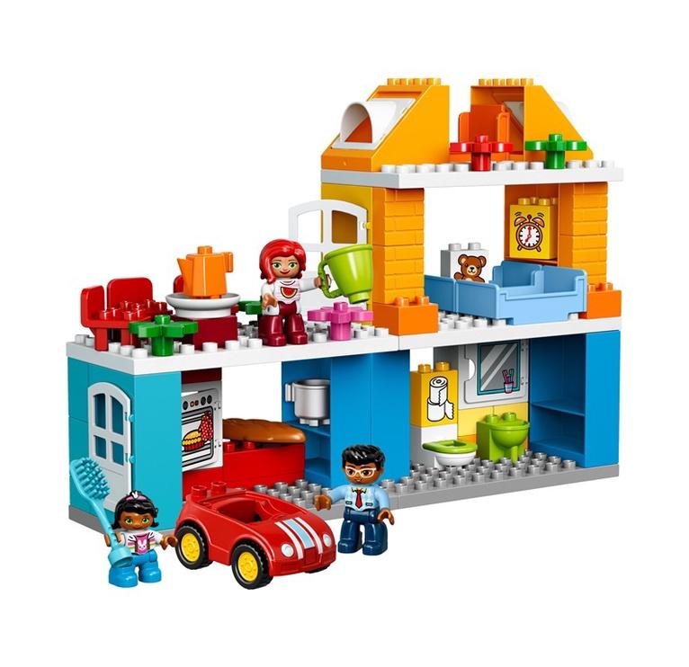 Конструктор LEGO Duplo Family House 10835 10835, 69 шт.