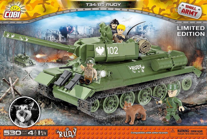 Cobi Small Army Rudy 102 T-34/85 2486