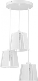 TK Lighting Carmen 1777 Ceiling Lamp 3x60W E27 White