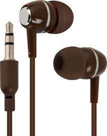 Ausinės Defender In-Ear Headphones Coffee Berry Brown