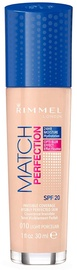 Rimmel London Match Perfection Foundation SPF20 30ml 010