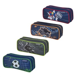 Herlitz Double Pencil Case Mix Boys