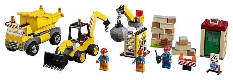 Конструктор LEGO Juniors Demolition Site 10734, 175 шт.