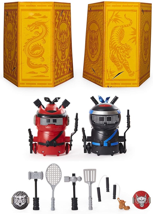 Interaktyvus žaislas Spin Master Ninja Bots Battling Robots 6058493
