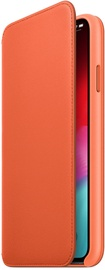 Apple Leather Folio Case For Apple iPhone XS Max Sunset