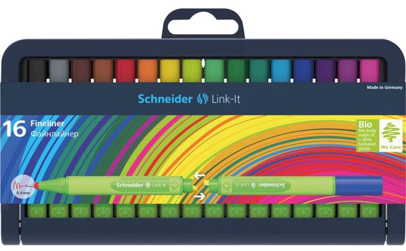 Schneider Pen Link-It Fineliner 0.4mm 16pcs 191292