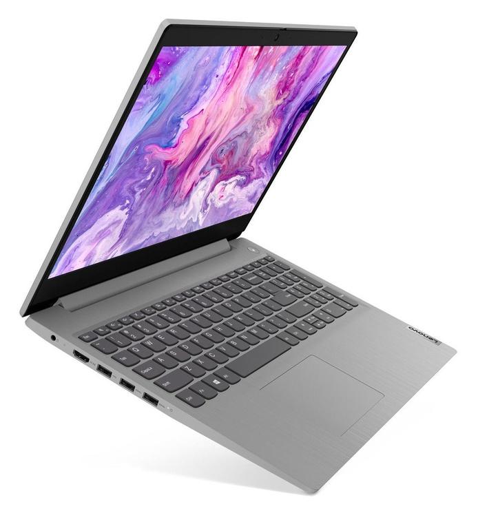 """Nešiojamas kompiuteris Lenovo IdeaPad 3-15 ILL Grey 81WE00H6PB Intel® Core™ i3, 8GB/256GB, 15.6"""""""