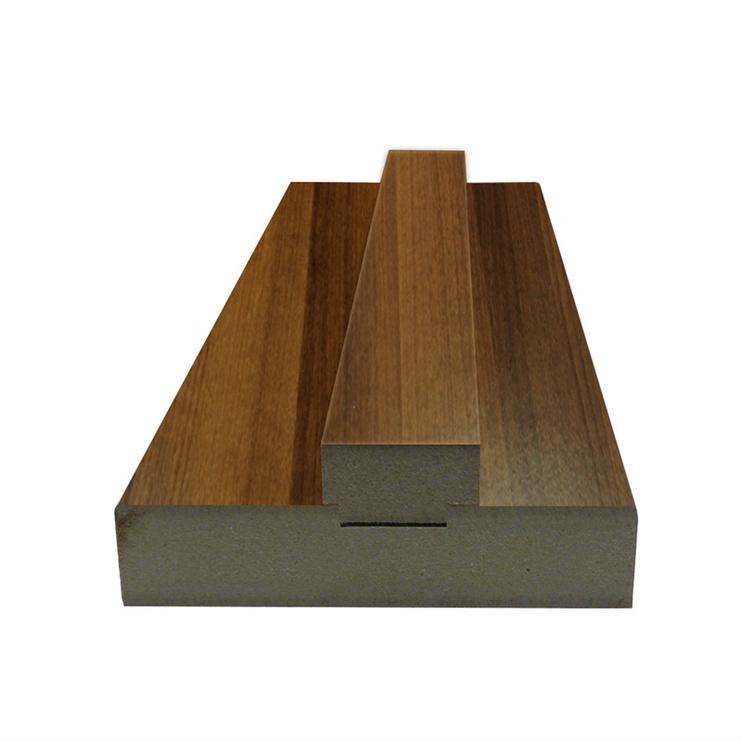 Lamineeritud lävepaku komplekt 80x33x20 mm, pähklipuu