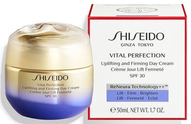 Näokreem Shiseido Vital Perfection Uplifting & Firming Day Cream SPF30, 50 ml