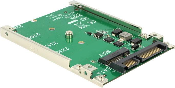 """Delock 2.5"""" SATA 22-pin to M.2 NGFF Adapter"""