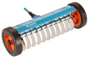 Gardena Combisystem Mechanical Aerator On Wheels