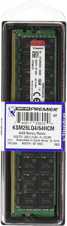 Kingston Hynix 64GB 2666MHz CL19 DDR4 ECC KSM26LQ4/64HCM