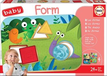 Puzle Educa Borras Baby Form 725512, 12 gab.