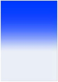 Fotocom Blue Rectangular Filter