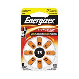 Elementai Energizer, ZA13, 1.4V, 8 vnt