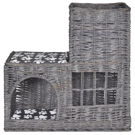 Домик для животных VLX Pet House, серый, 550 мм x 270 мм