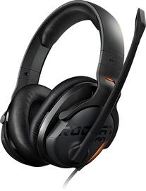 Žaidimų ausinės Roccat Khan AIMO 7.1 RGB Black