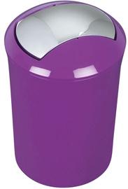 Spirella Sydney Waste Bin 5l Violet