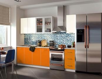 MN Fortune Kitchen Unit 1.7m Mango/Beige