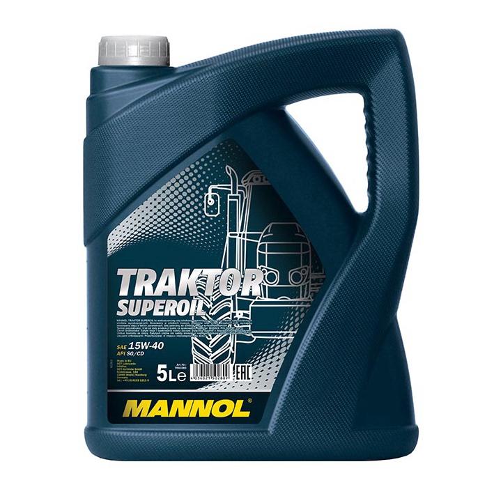 Tepalas Mannol Traktor Superoil 15W-40, 5 l