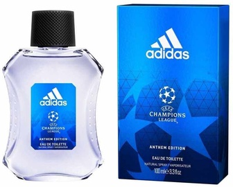 Tualetes ūdens Adidas UEFA Champions League Anthem Edition EDT, 100 ml
