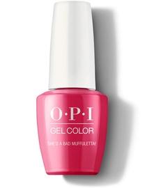 Лак для ногтей OPI Gel Color She's a Bad Muffuletta!, 15 мл