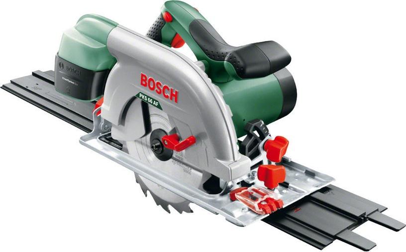 Bosch PKS 66-2 AF AKC Circular Saw with Guide Rail