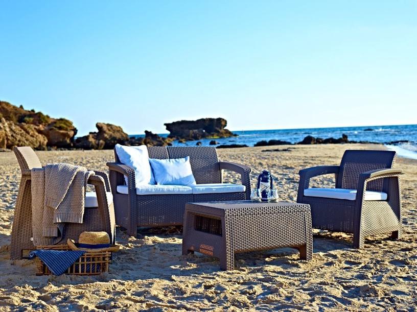Keter Corfu Garden Lounge Set Beige