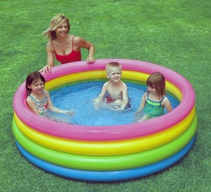Intex Pool 186x46cm Multicolour